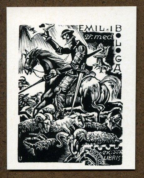 Emil I Bologa Ex Libris