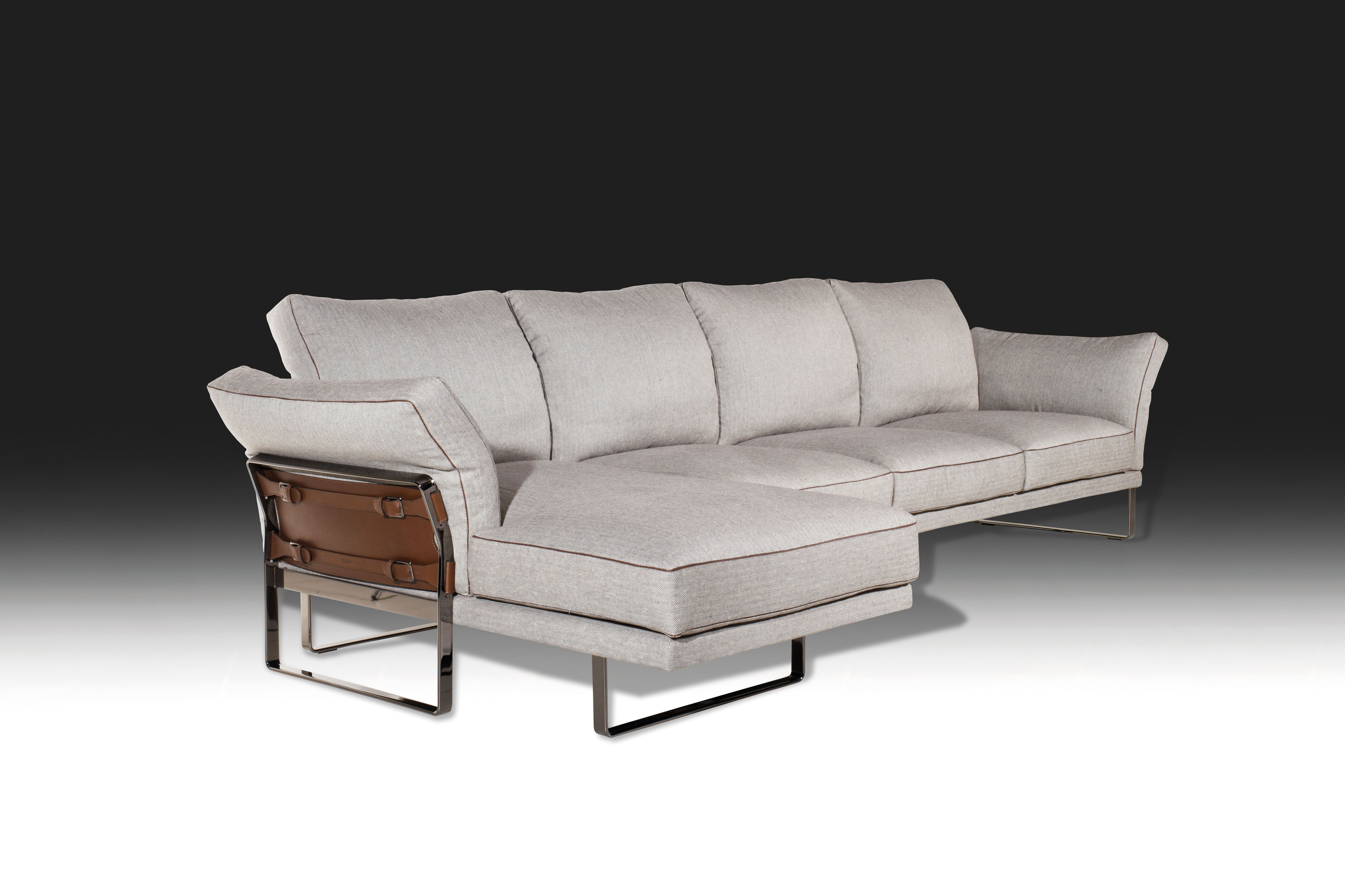 1868 KUKA K touch Pure White Sectional