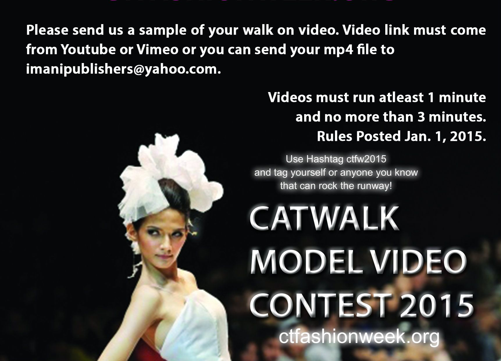 Attention Fashion Models! The Time Has Come! Go To