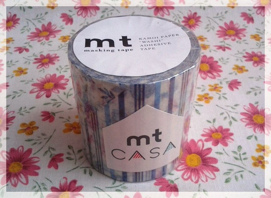 MT Casa tape 3 styles blue washi tape for home decor