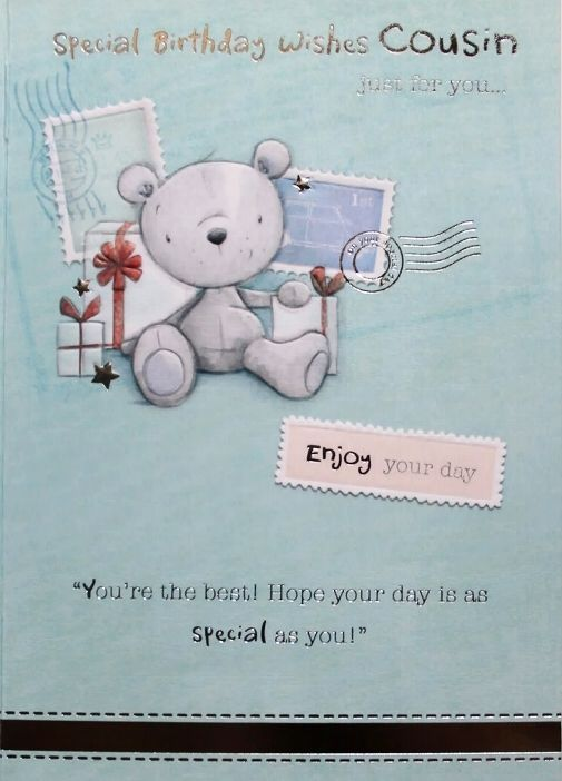 birthday card saying for a cousin just meeting Birthday other card verses in birthday free to a day that's just for you, for in this card are so we would like to say, that we hope as today's your birthday.