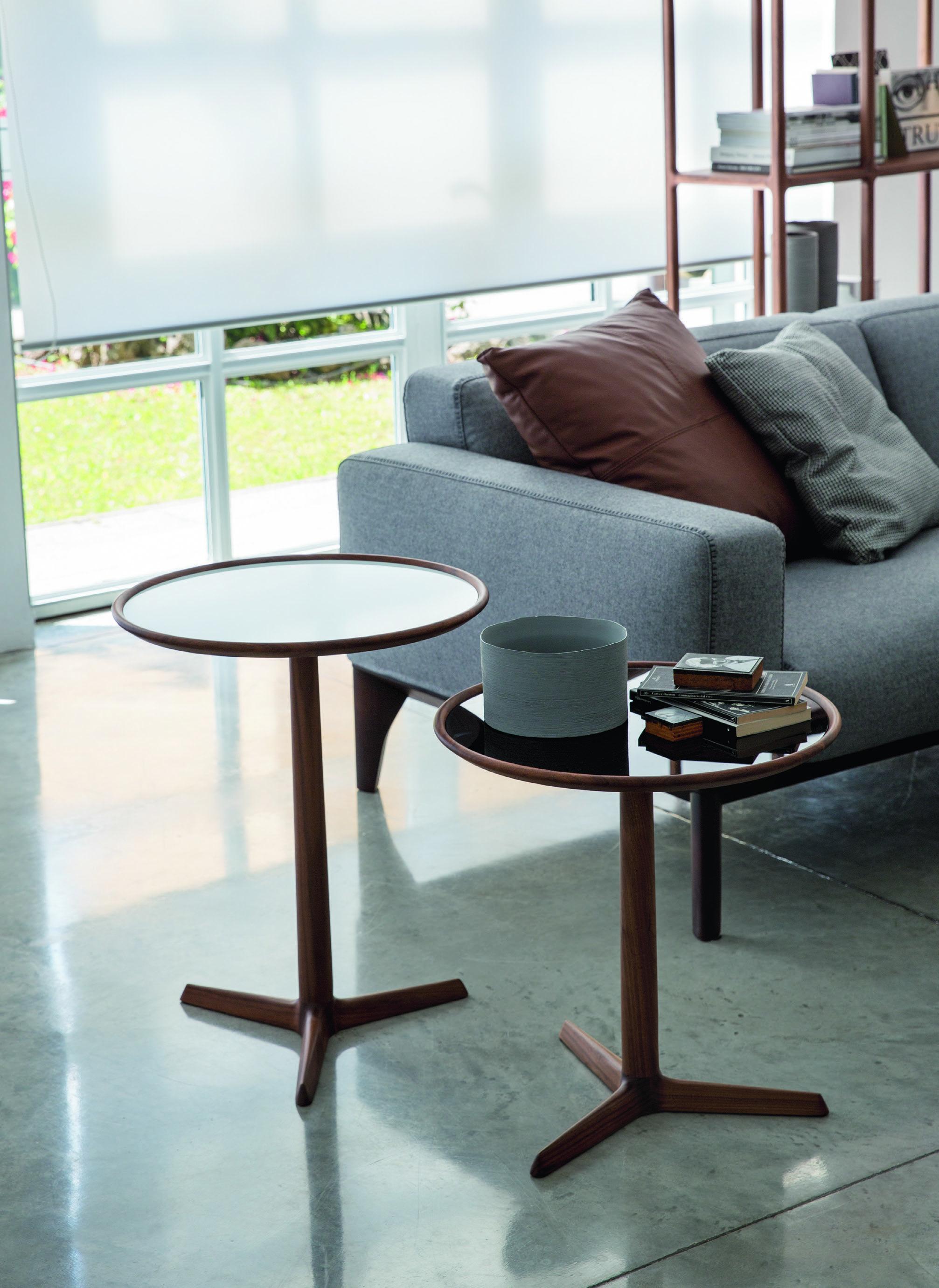 Pausa side tables by porada design t colzani