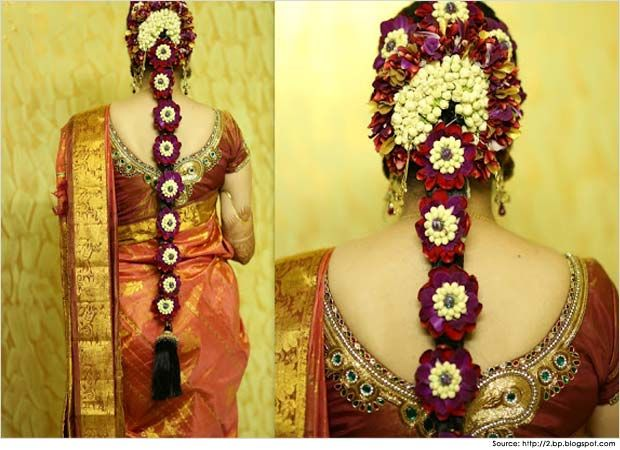 Hairstyles for Sarees South Indian brides | Love for all things ...