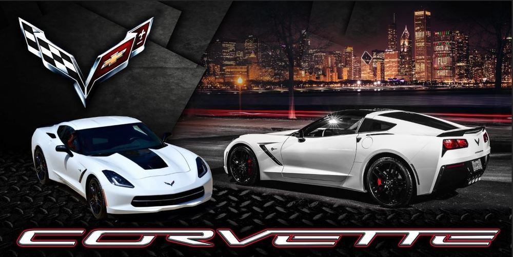 Details About C7 Z06 Arctic White Chevrolet Corvette Coupe Vinyl