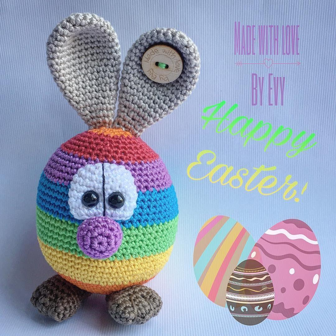 Happy Easter!! 🍳🐰🐔🐣 #crochet #haken #häkeln #handmade ...