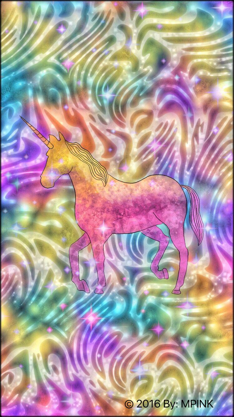 Rainbow Unicorn Wallpaper | Pimp My Phone! | Pinterest ...