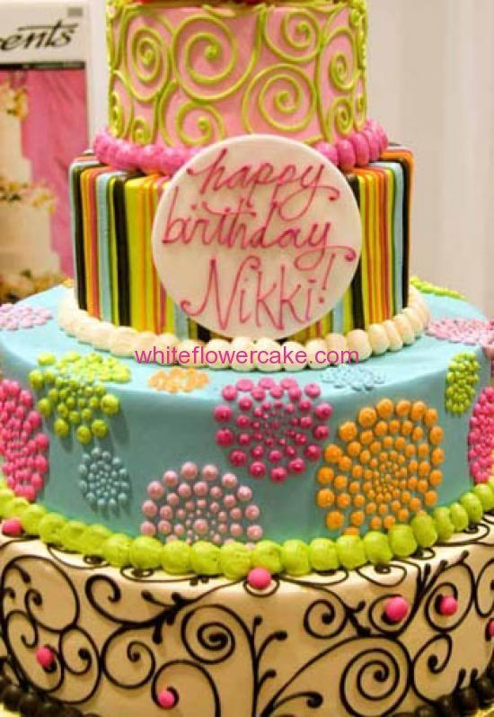 Birthday Cake Images With Name Nikki : happy birthday nikki cake - Google Search Birthdays ...