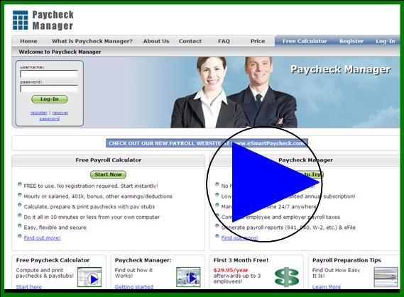 Paycheck Manager  Business Apps    Calculator