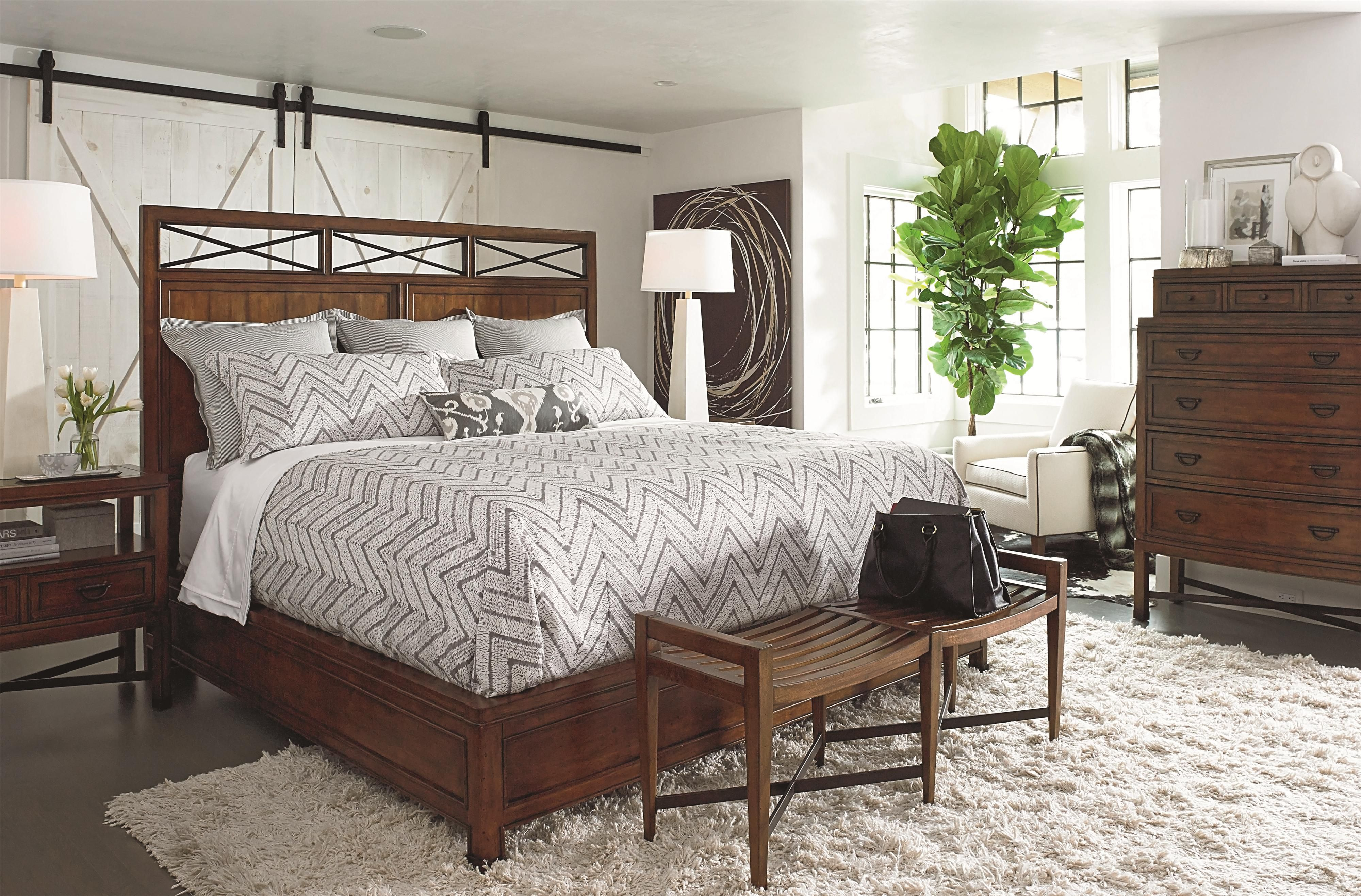 american anthem king wood panel bed by thomasville fine