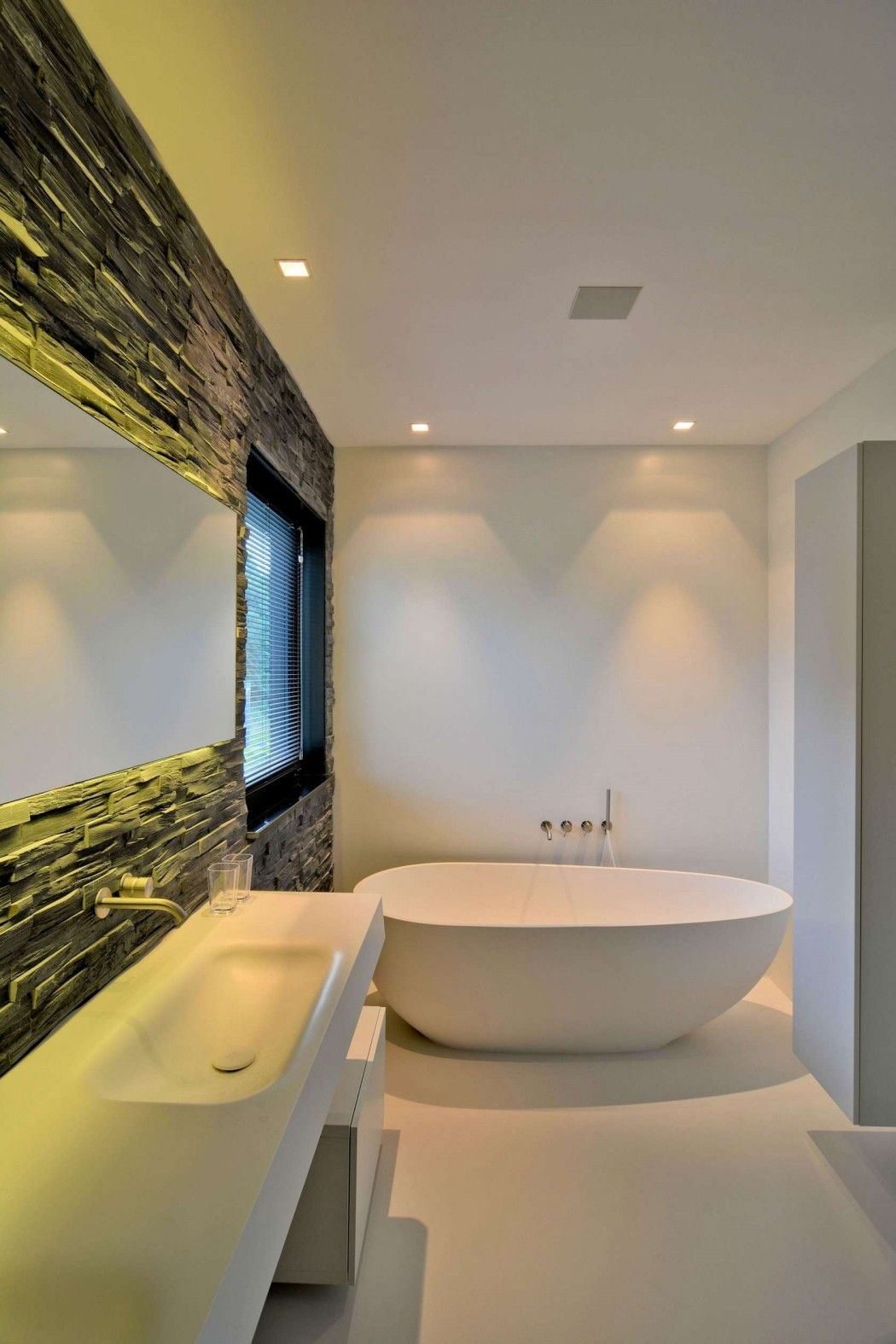 House K N By Ckx Architects Architecture Bathroom House House Design