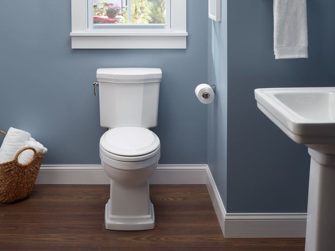 Toto Promenade Dual Flush Elongated Two Piece Toilet Seat Not Included Reviews Wayfair Traditional Toilets Contemporary Bathroom Remodel Toto