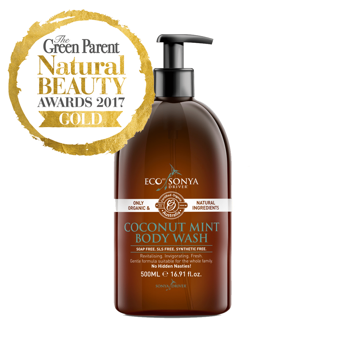 Coconut Mint Body Wash Organic body wash, Body wash