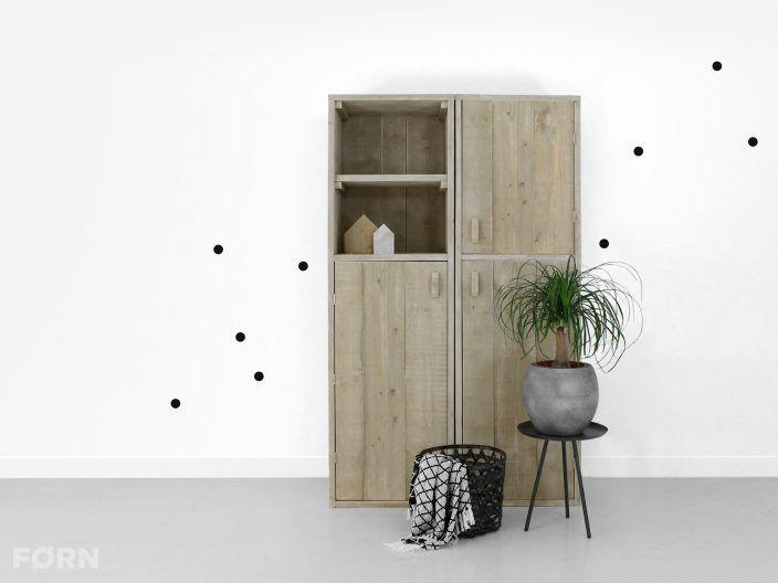 Bauholz Schrank Jannis - Bauholzmoebeldesignde Bauholz Design Möbel - Schrank Für Wohnzimmer