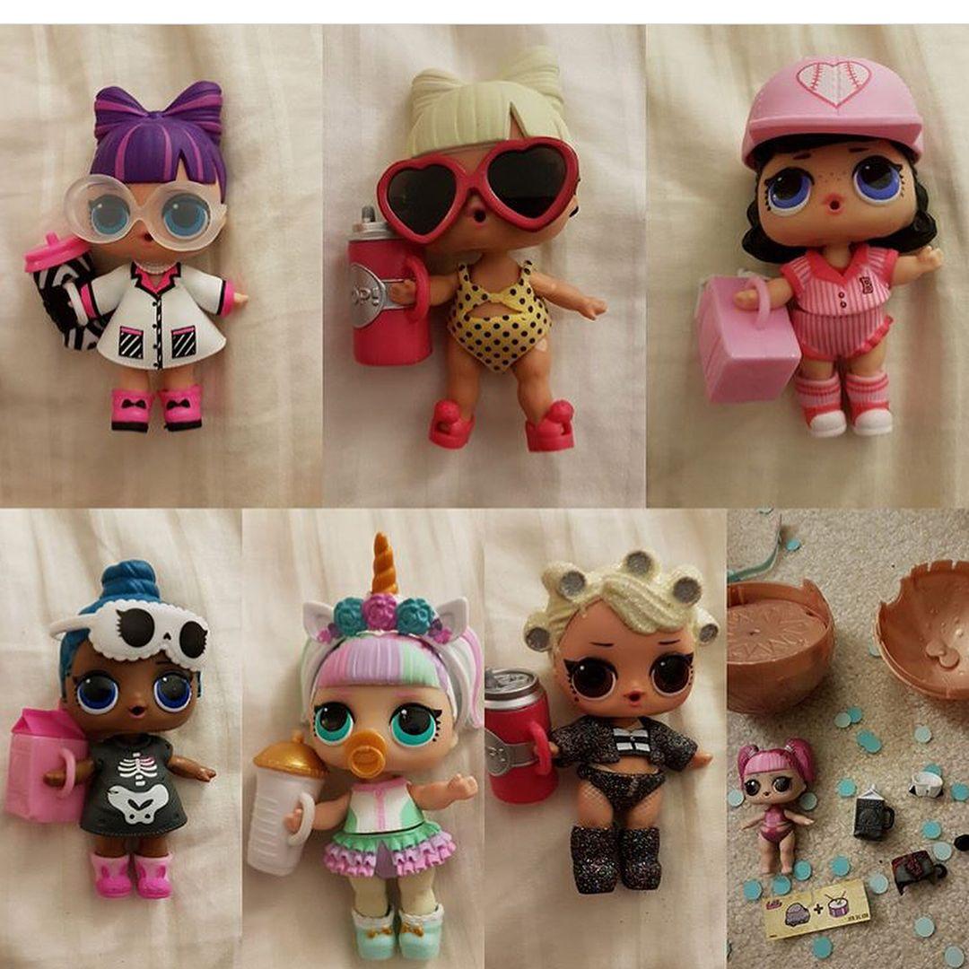 LOL Surprise Doll Series 3 Big Sister Sleepy Bones Confetti Pop Figure Toy