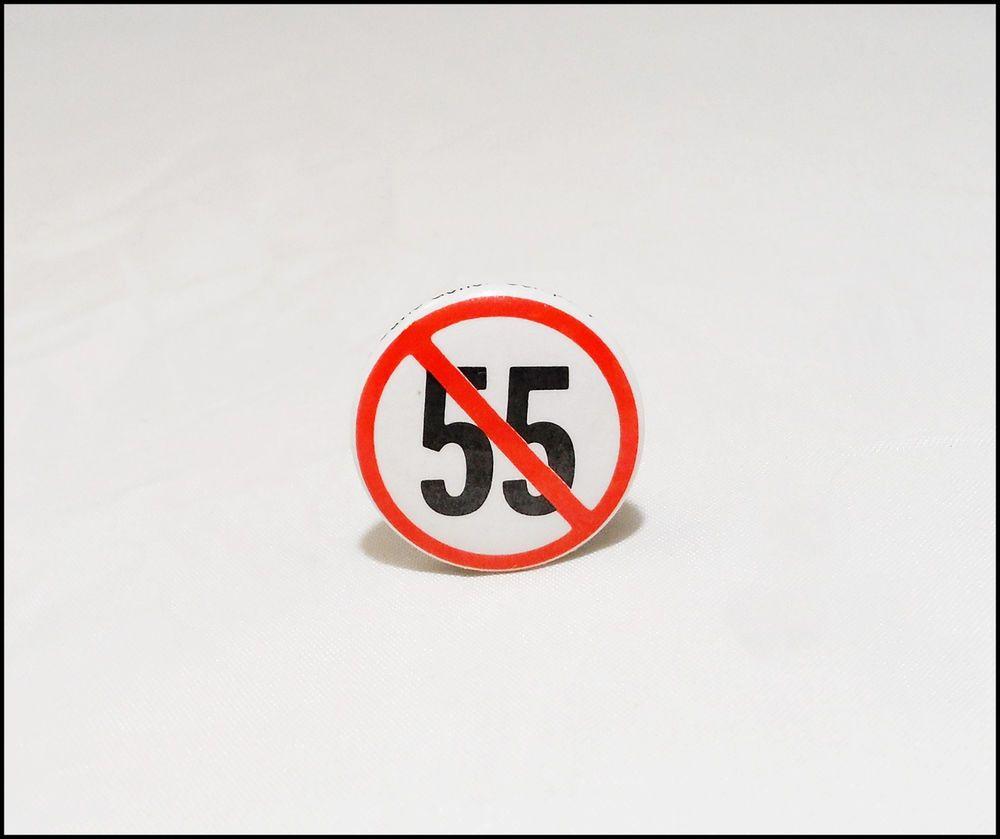 Sammy Hagar 1984 I Can T Drive 55 Geffen Records Promo Button Pin Promo Buttons Sammy Hagar Van Halen