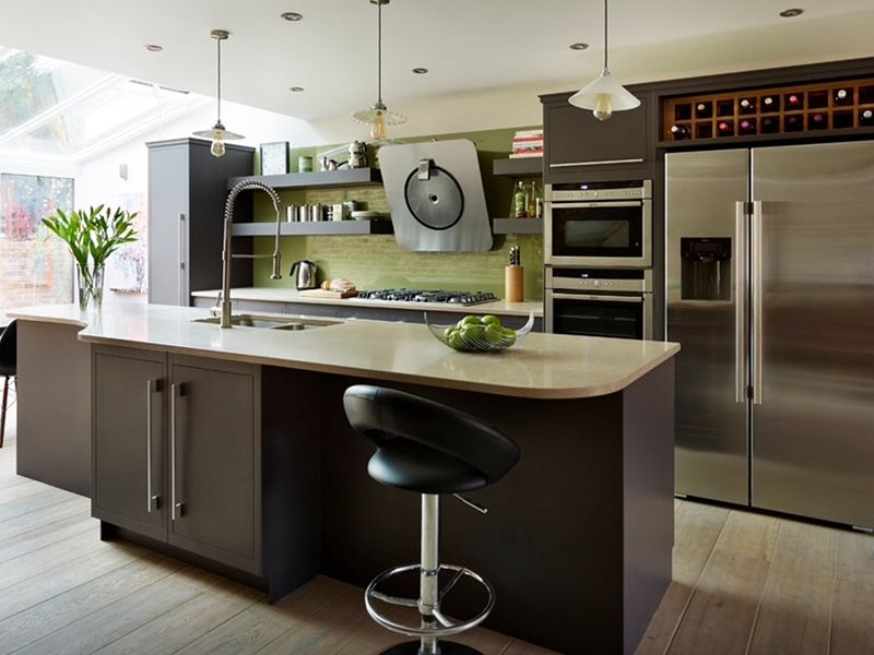 5 kitchen trends to look out for in 2017 modern green