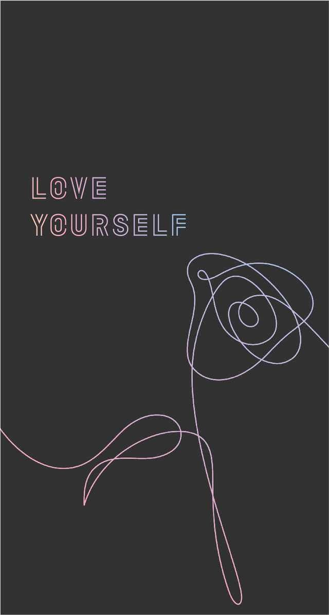 Bts Love Yourself Wallpapers Pt 3 Imgur Sampul Album Lirik Lagu Alasan Tersenyum