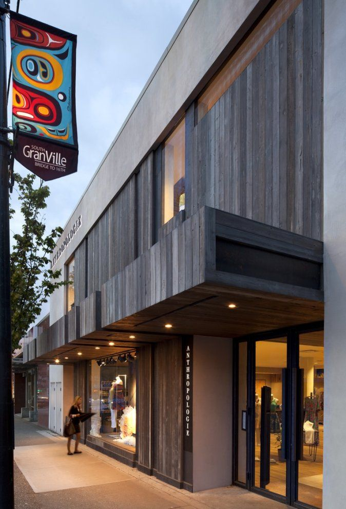 Anthropologie, Vancouver, | Facade, Real estate investor ...