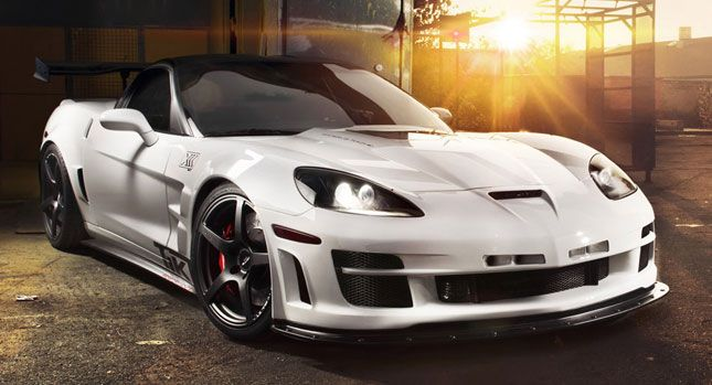 Corvette Zr1 Taken To The Max By German Tuner Tikt Chevrolet