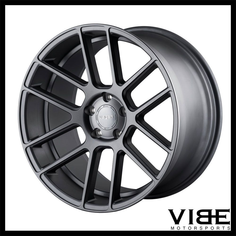 20 velgen vmb6 gunmetal concave wheels rims fits pontiac. Black Bedroom Furniture Sets. Home Design Ideas