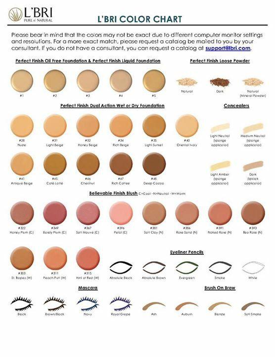 L Bri Color Chart Makeup Www Skylarmarshall Lbri