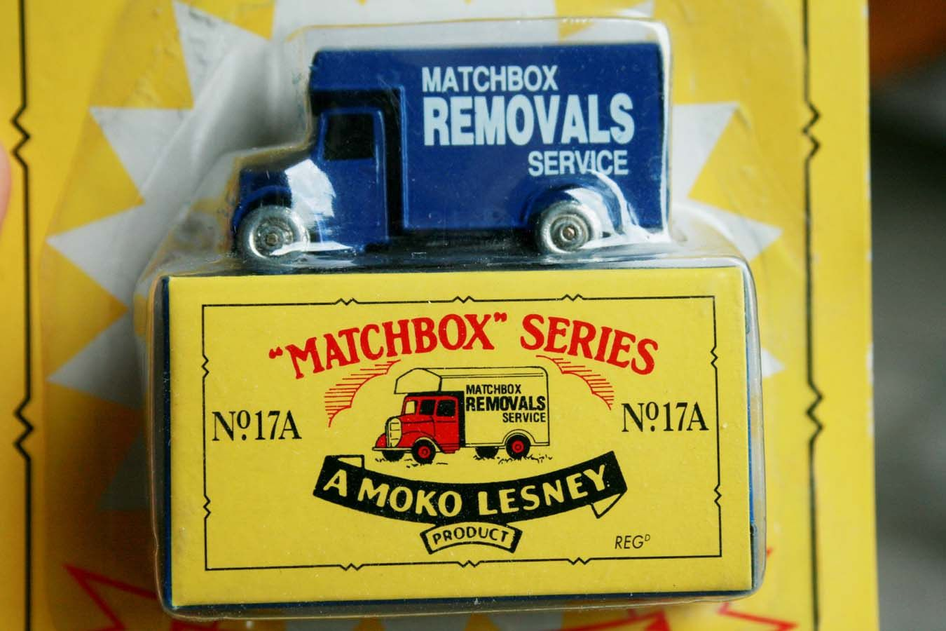 Vintage Matchbox Car, Removals Service Vehicle