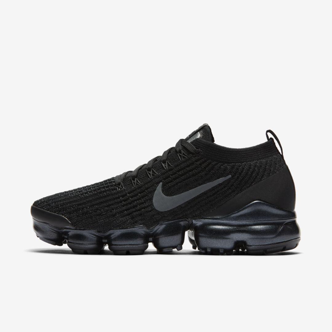Nike Air VaporMax Flyknit 3 Women's Shoe (Black) | Nike air