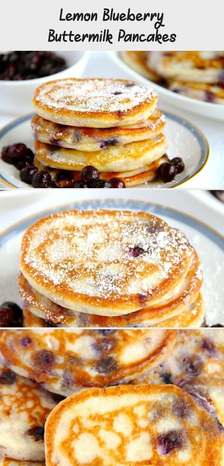 Lemon Blueberry Buttermilk Pancakes Cake Recipe In 2020 Blueberry Buttermilk Pancakes Buttermilk Pancakes Lemon Blueberry