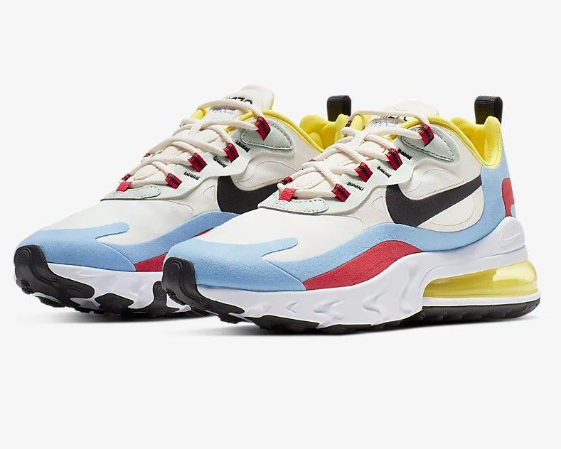 nike air max 270 react femme multicolor
