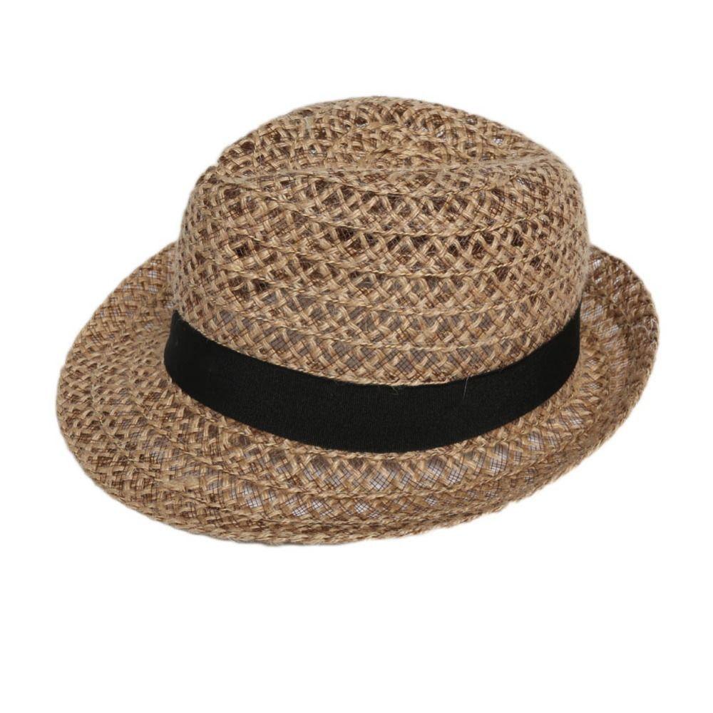 a13055359509e Encontrar Más Sombreros de Sun Información acerca de 2016 moda de verano  mujeres hombres sombreros hueco de paja sombrero para el sol sombrero  Chapeu ...