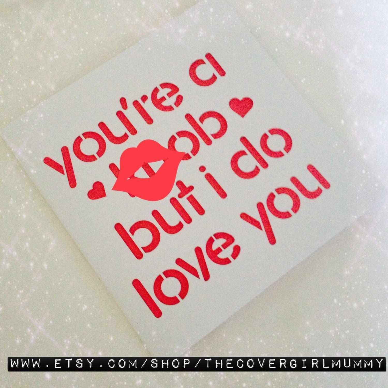 Valentines card valentines day boyfriend valentines Anniversary – Boyfriend Valentine Cards