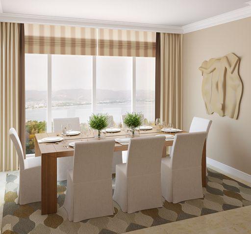 Modelos de juego de comedor de 8 sillas decoraci n de - Fundas sillas comedor ...