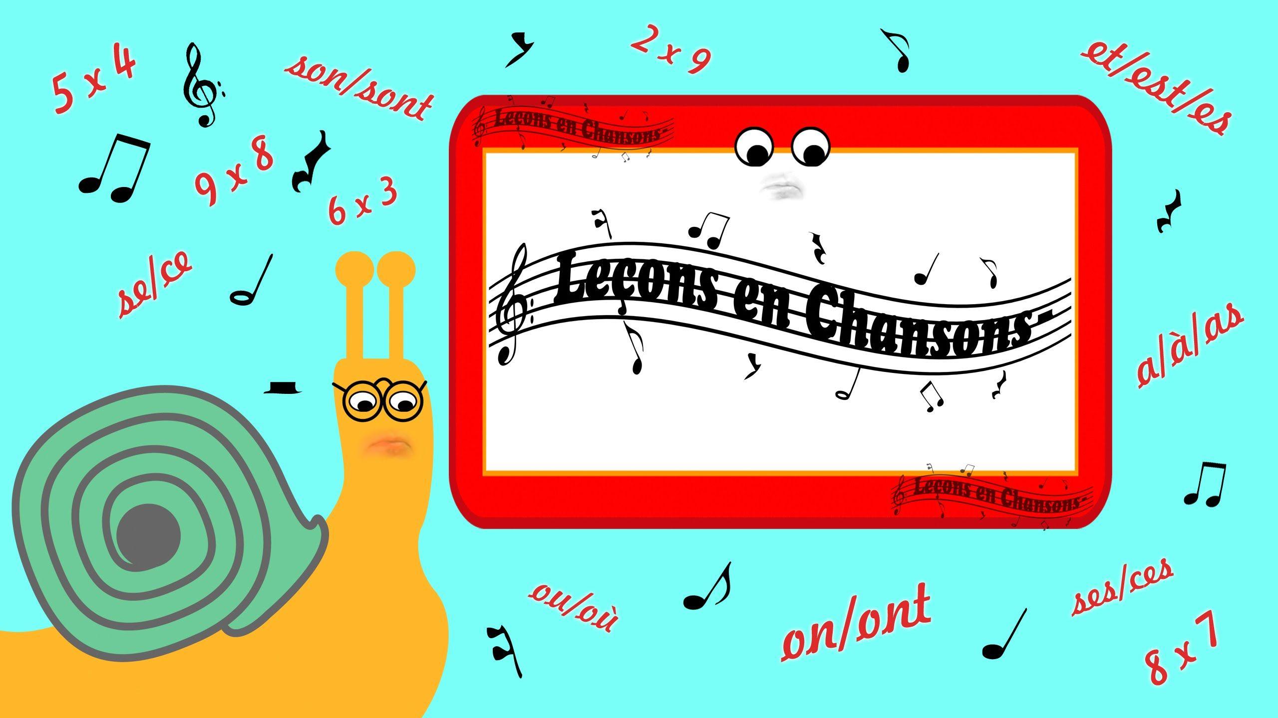 Pingl par ludo sur le ons en chansons le on chanson et table de 7 - Chanson table de multiplication ...