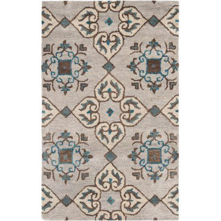 Safavieh Wyndham Kingston Wool Area Rug, Beige/Multi