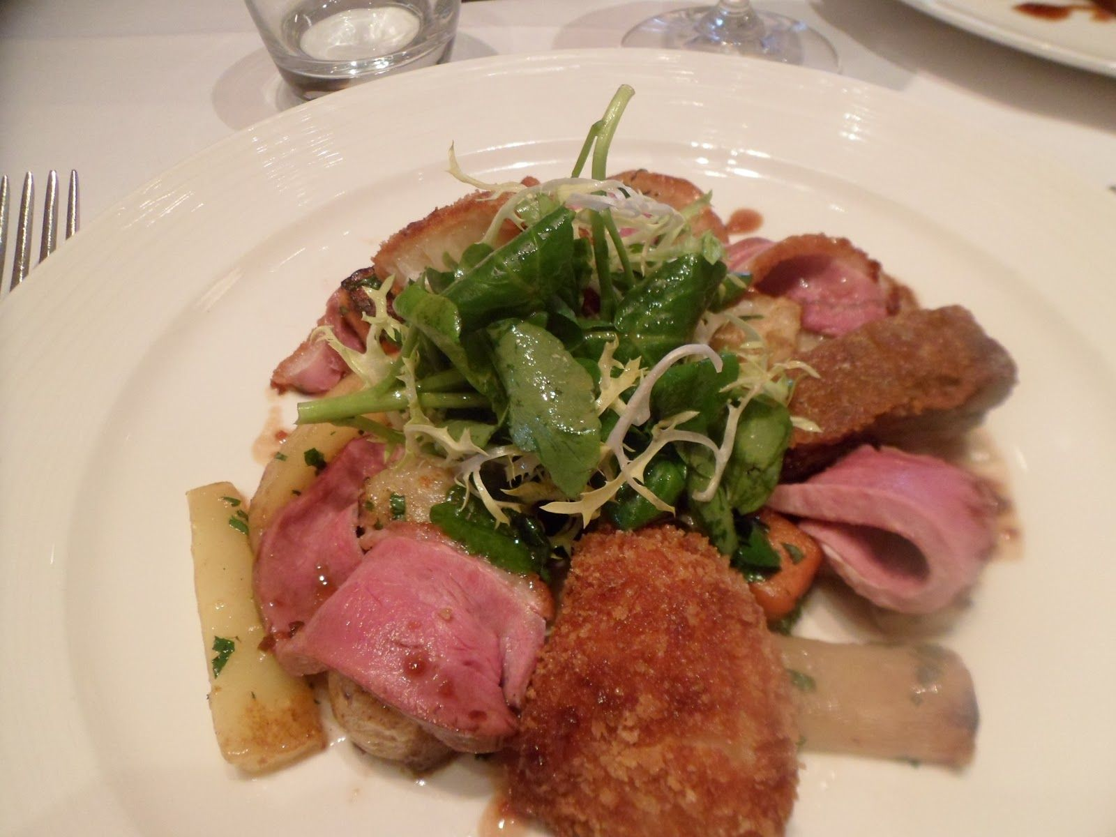 Chez bruce wandsworth food restaurant michelin star
