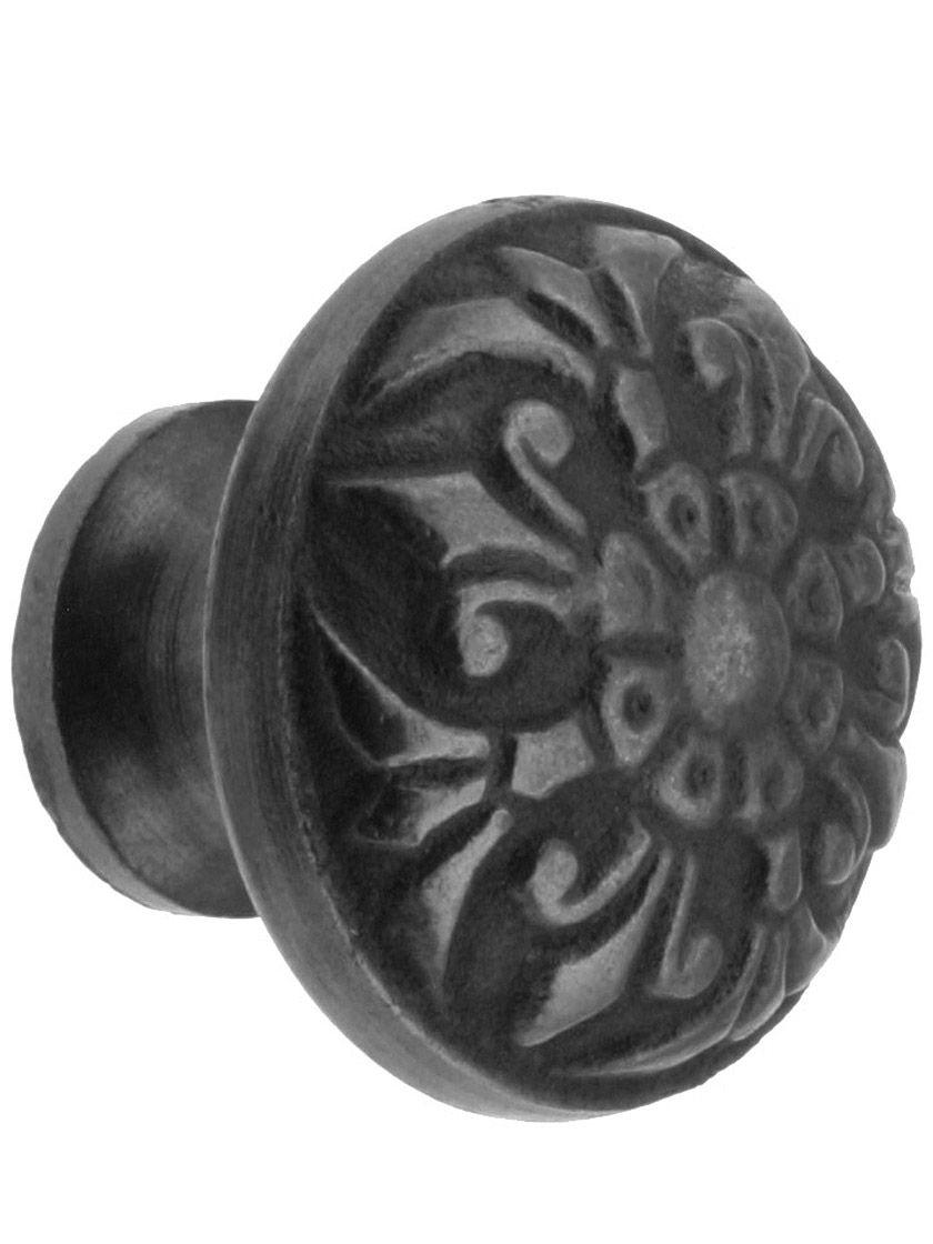 Cast Iron Drawer Knobs. 1 1/2\