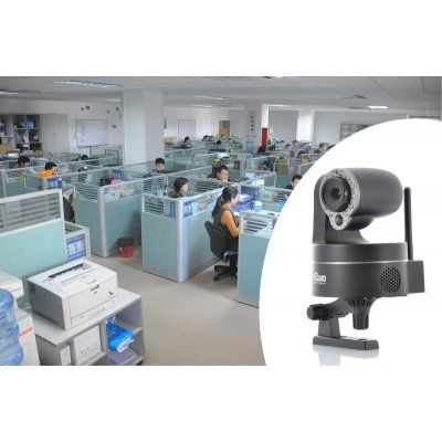 NEO Coolcam NIP-09 IP Camera - 0.3 Megapixel, Motion Detection, Supports iPhone/iPad/Android, Night Vision, Pan/Tilt | http://www.chinavasion.com/china/wholesale/IP_Cameras/Indoor-Office_IP_Cameras/Plug_and_Play_IP_camera_-_0.3_Megapixel_Motion_Detection_Supports_iPhone_iPad_Android_Night_Vision_Pan_and_Tilt/