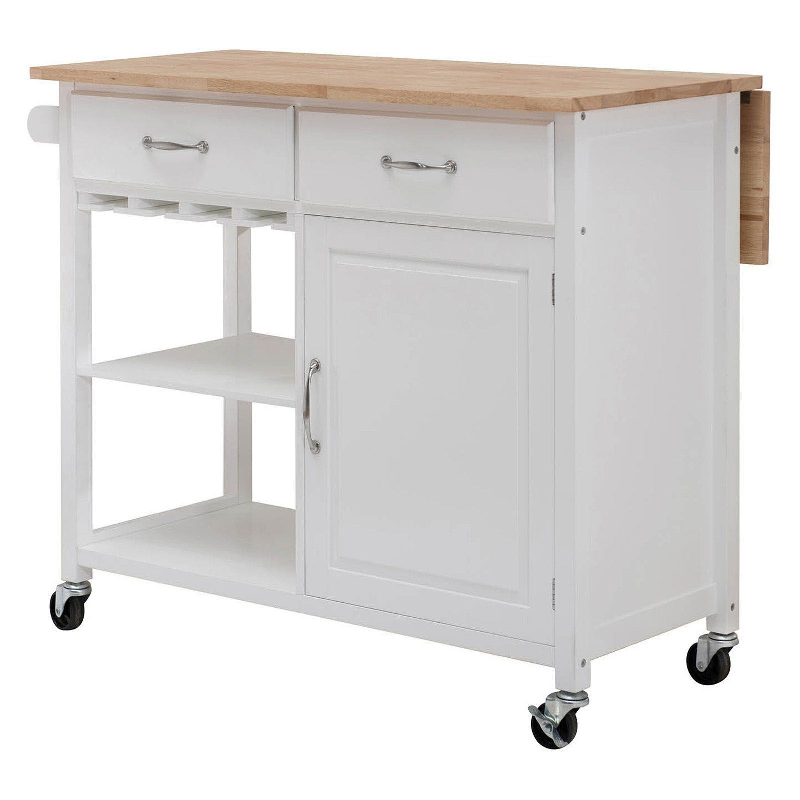 Portable Kitchen Islands (Rolling & Movable Designs