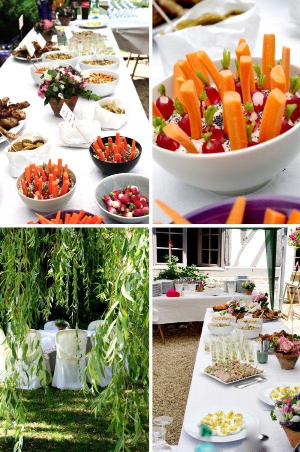 Leau A La Bouche Wedding BuffetsFood