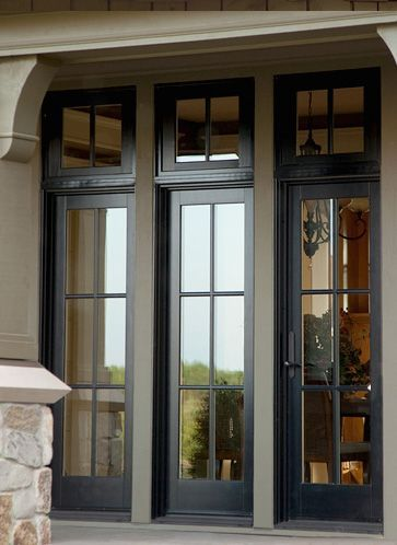 Image result for black anderson casement windows short