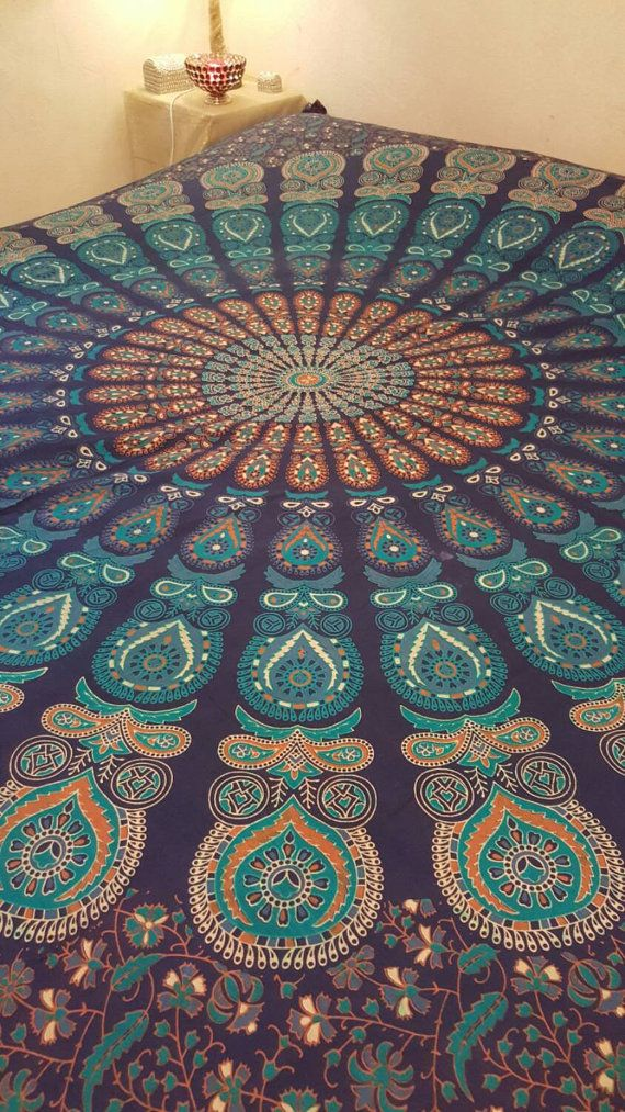 Indian Mandala Hippie Bohemian Wall by EssentialDesigns007