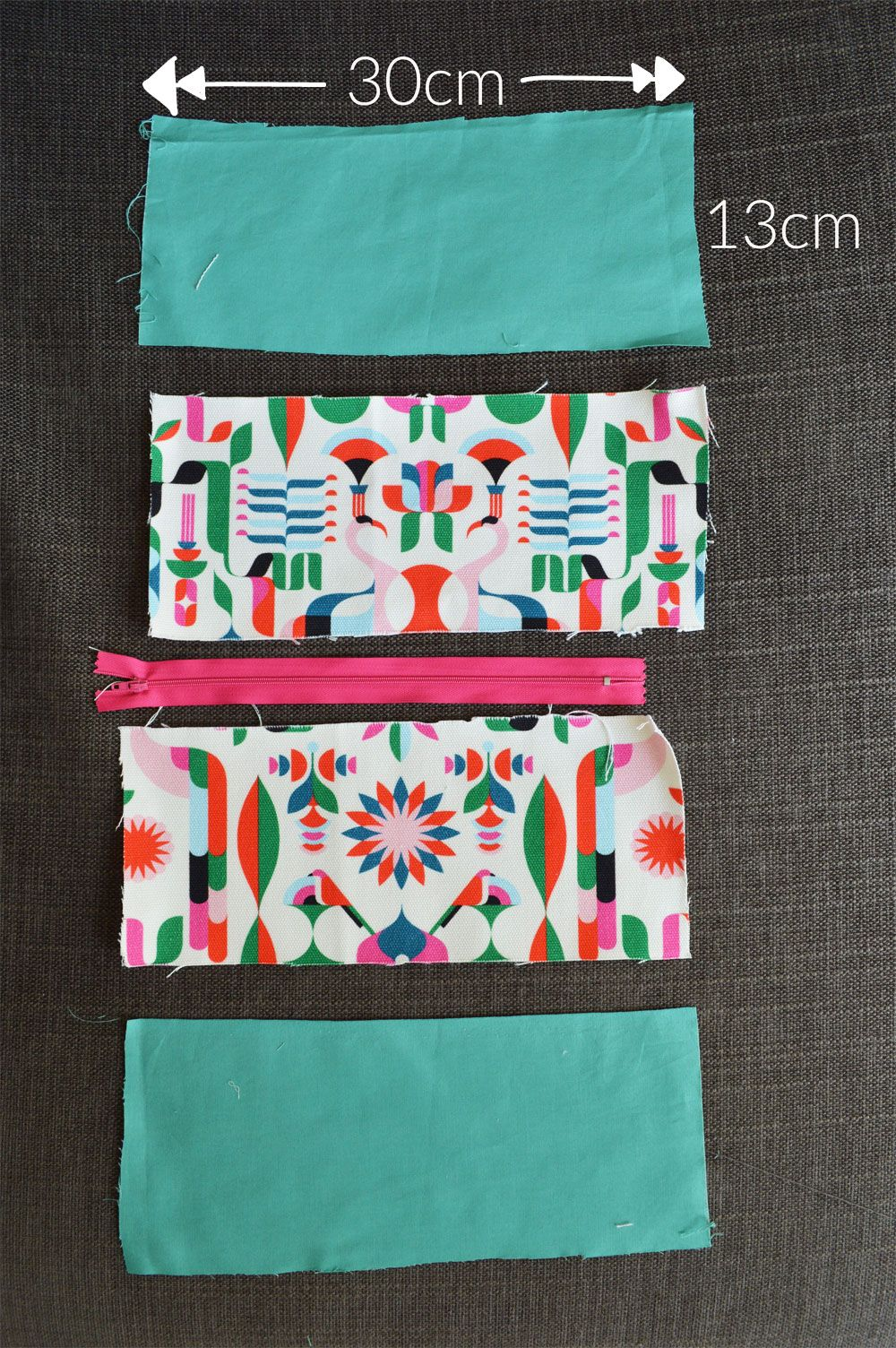 D.I.Y tutorial : Make your own cosmetic bag | Rund ums Nähen, Beutel ...