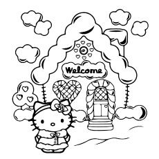 Top 75 Free Printable Hello Kitty Coloring Pages O