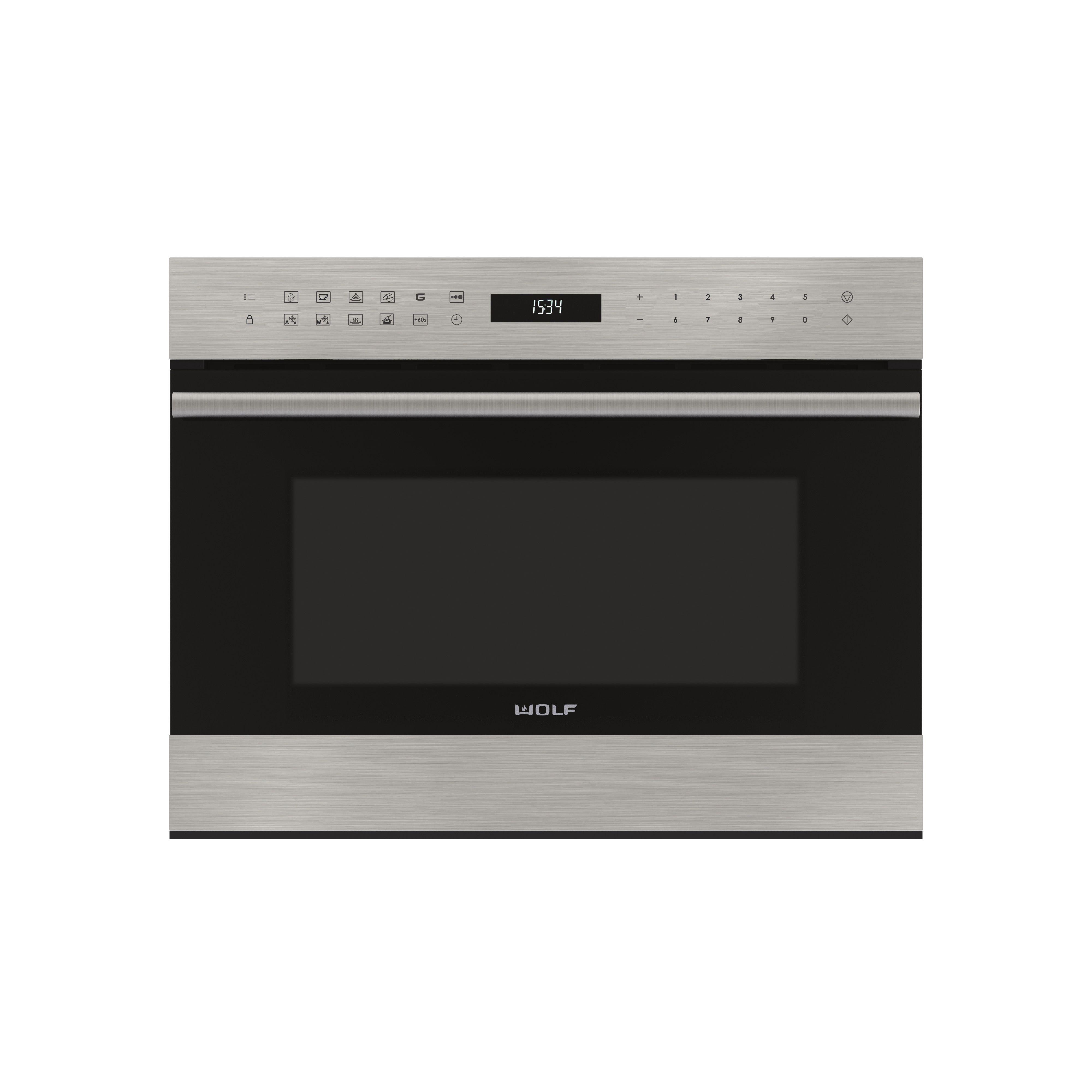 24 E Series Transitional Drop Down Door Microwave Oven Microwave Oven Steam Oven Microwave
