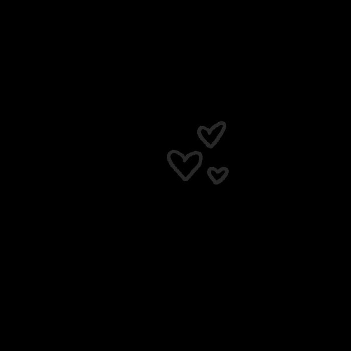 Freetoedit Heart Tumblr Cute Black Hearts Remixit Small Heart Tattoos Black Heart Tattoos Instagram Icons