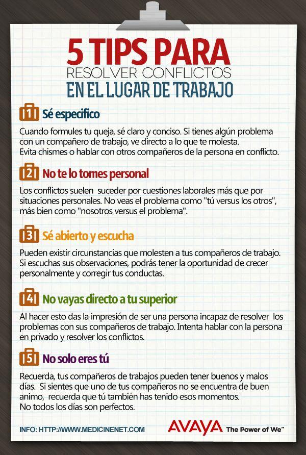 5 Consejos Para Resolver Conflictos En El Trabajo