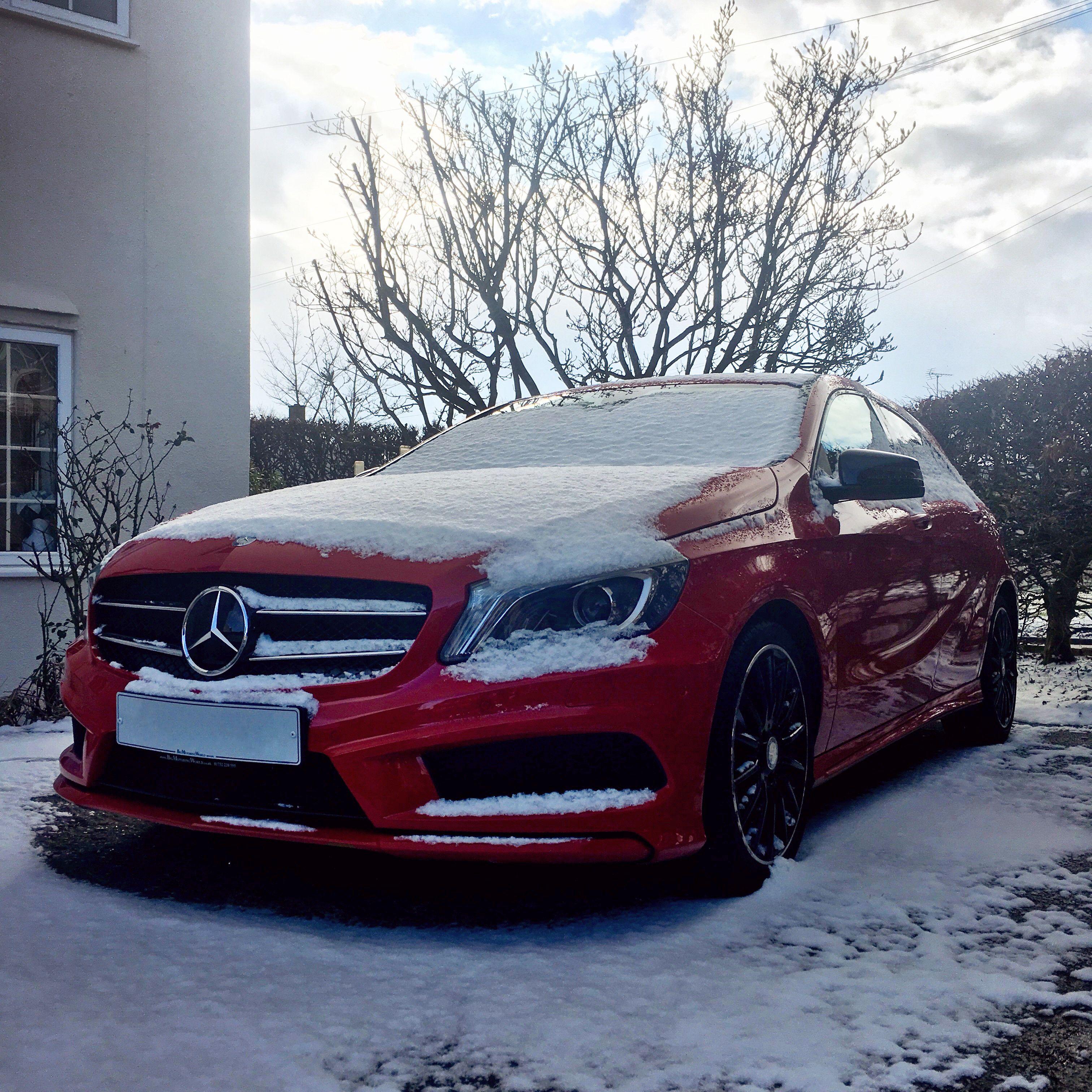 Mercedes A-Class W176 AMG Line Jupiter Red