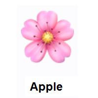 Meaning Of Cherry Blossom Emoji Cherry Blossom Emoji Emoji Design