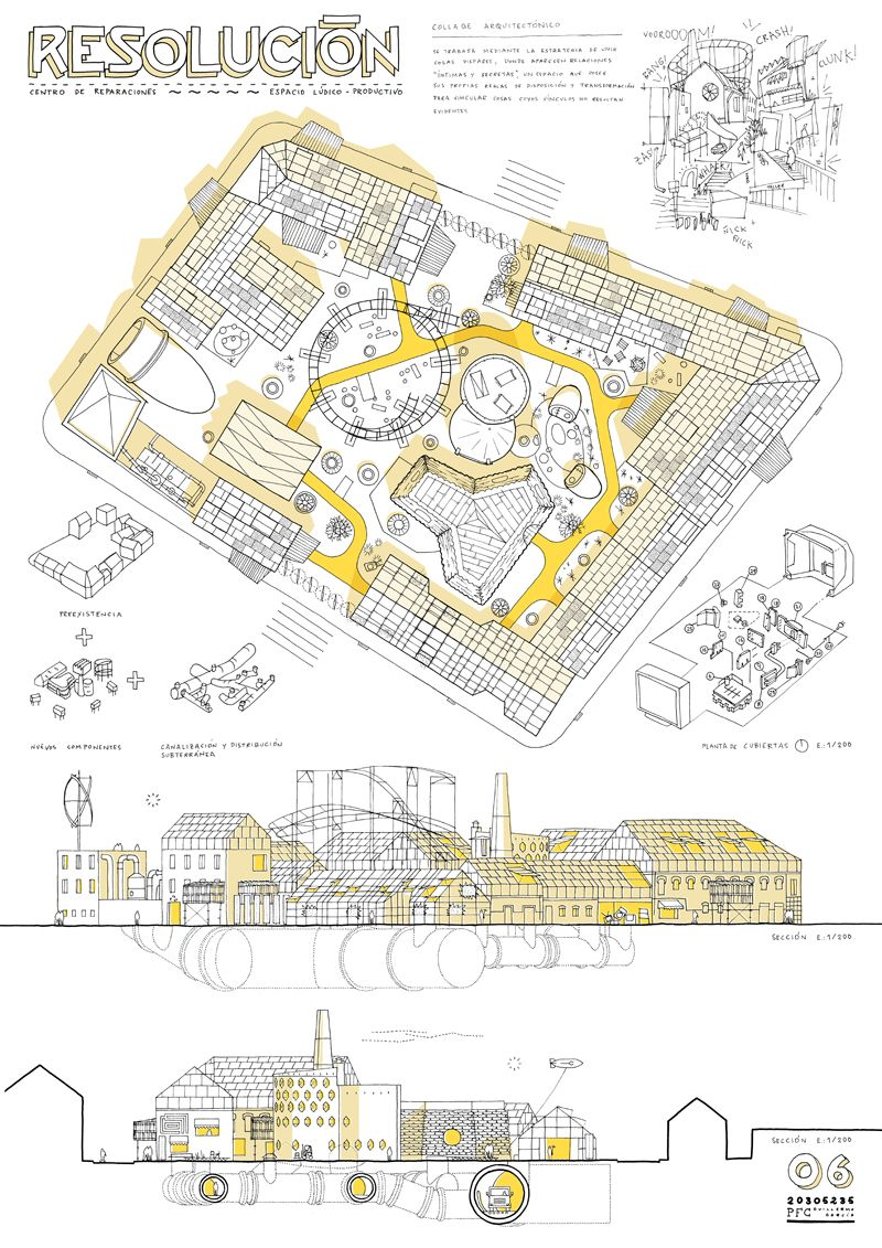 Proyecto de fin de carrera de arquitectura universidad for Carrera de arquitectura