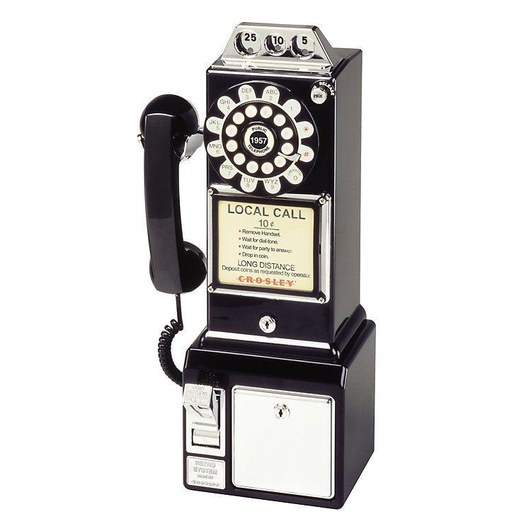 Crosley 1950s Payphone Kohls In 2021 Pay Phone Phone Telephones